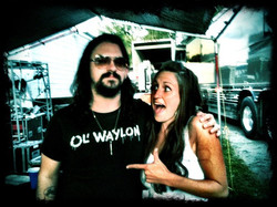 Backstage with Shooter Jennings