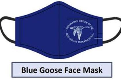 Blue Goose Face Mask
