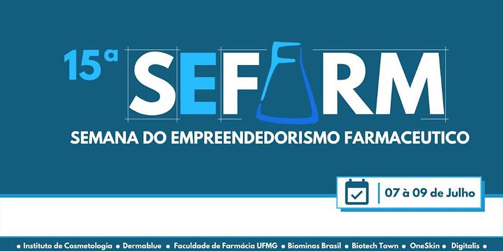 XV Semana do Empreendedorismo Farmacêutico - SEFARM