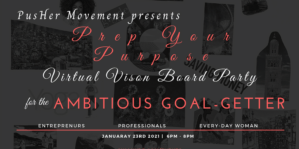 PYP Virtual Vision Board Party