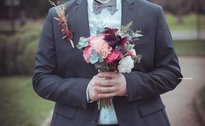 Bouquet de mariée écologique et solidair