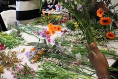Atelier création de bouquets