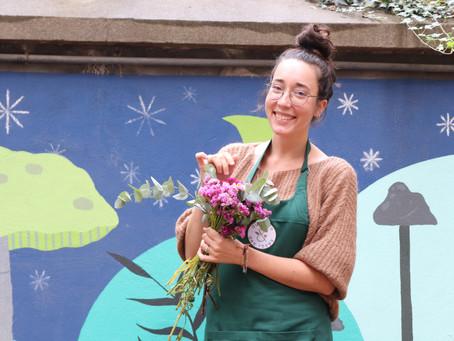 Victoria, notre nouvelle fleuriste globe-trotteuse