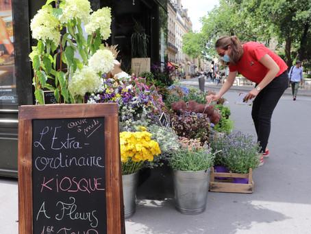 L'ouverture de l'Extraordinaire Kiosque à fleurs, c'est aujourd'hui !