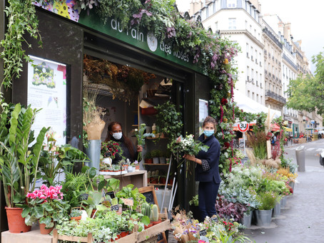 Inauguration de l'Extraordinaire Kiosque à fleurs