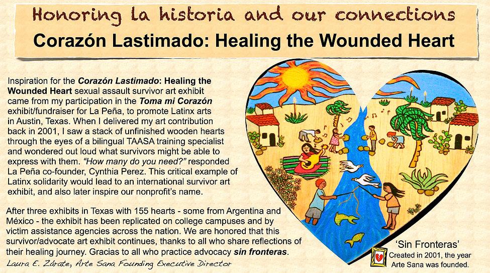 Corazon Lastimado exhibit history.001.jp