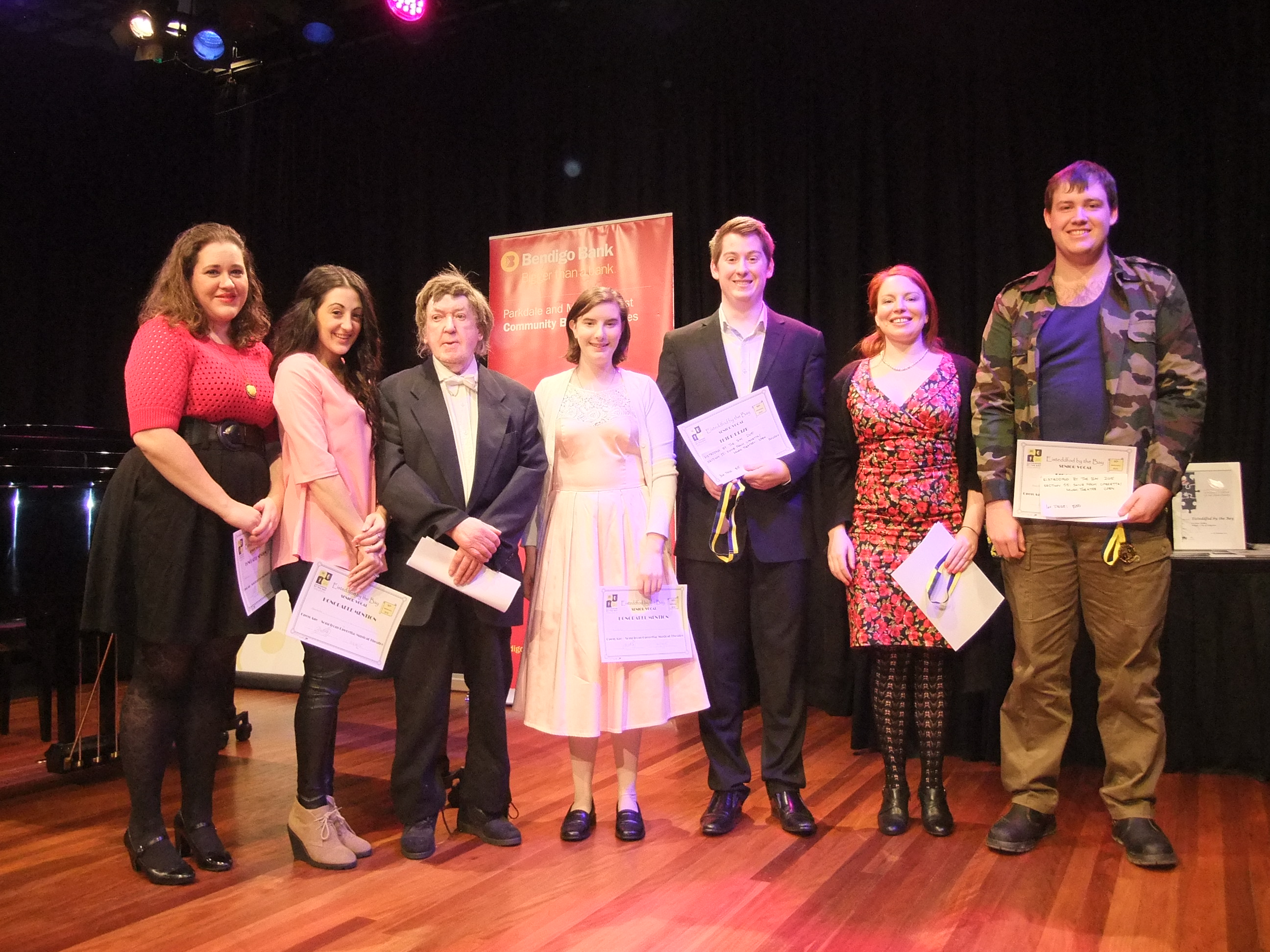 2015 Music Theatre/Operetta winners