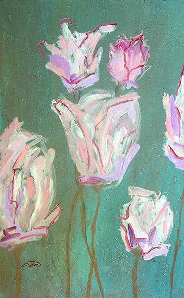 FLOWER -perky tulip bouquet