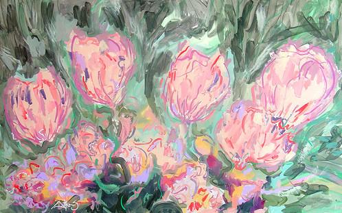 FLOWER -Tulip Bouquet