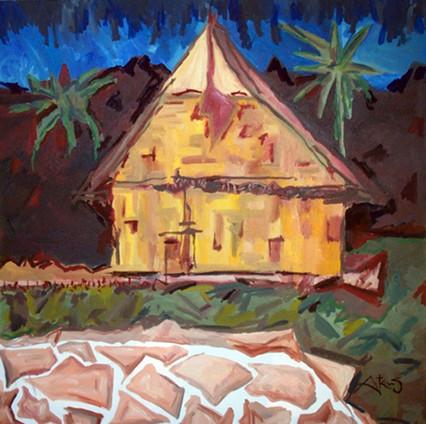TAHITI - Moorea Funderal House