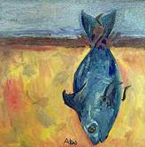 TAHITI -Street Side Fish Stand