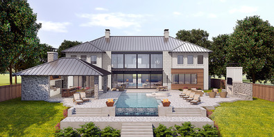 Lake House in Austin Hill Country