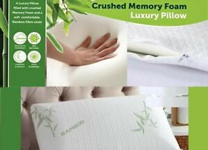 Bamboo Memory Foam Pillow Anti-Bacterial Orthopaedic Support