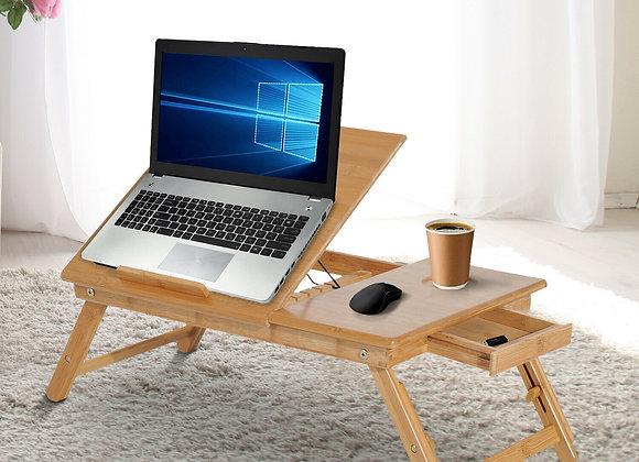 Bamboo Laptop Desk Portable Notebook Tray