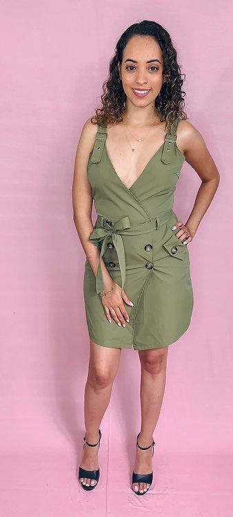 Kimmie Wrap Dress