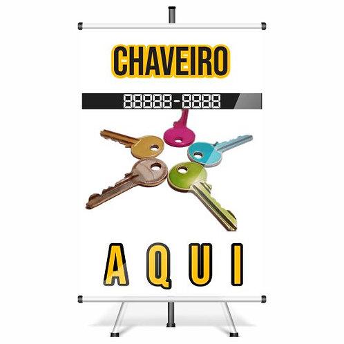 Chaveiro - Banner Pronto | 40x60 cm