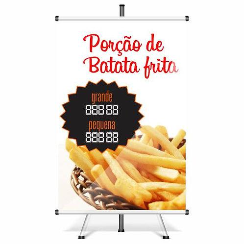 Banner Pronto Batata Frita | 40x60 cm
