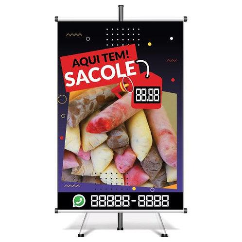 Banner Pronto Sacole | 40x60 cm