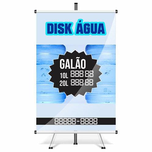 Banner Pronto - Banner Água | 40x60 cm