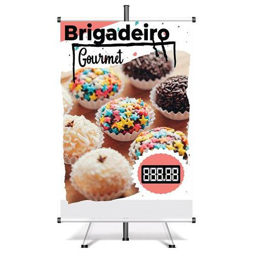 Banner Pronto Brigadeiro | 40x60 cm