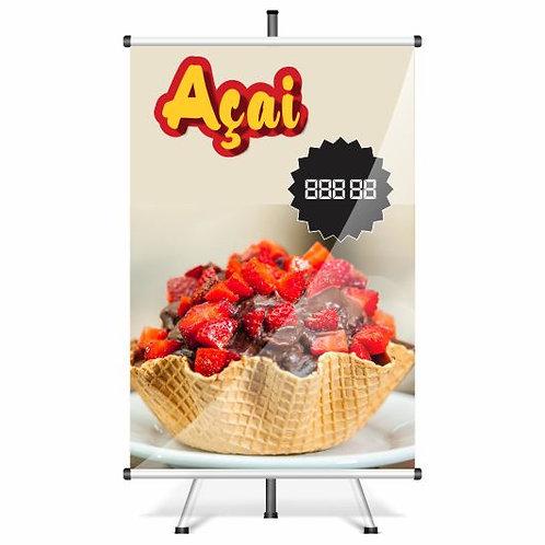 Banner Pronto Açaí | 40x60 cm