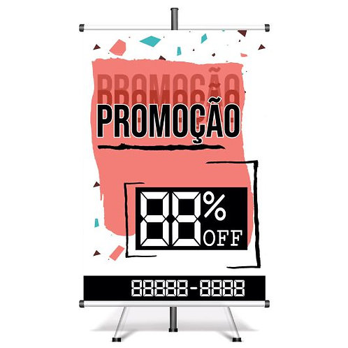 Banner Pronto Promoção | 40x60 cm