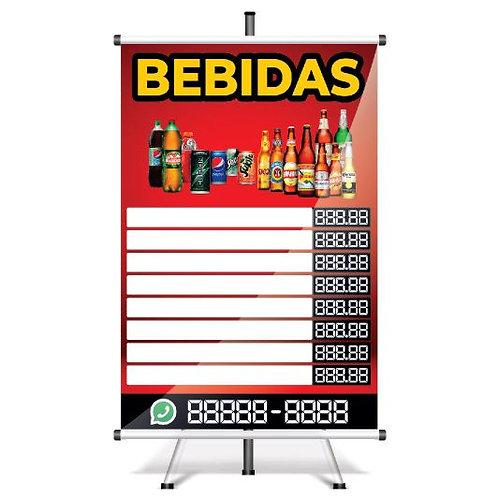 Banner Pronto Bebidas | 40x60 cm