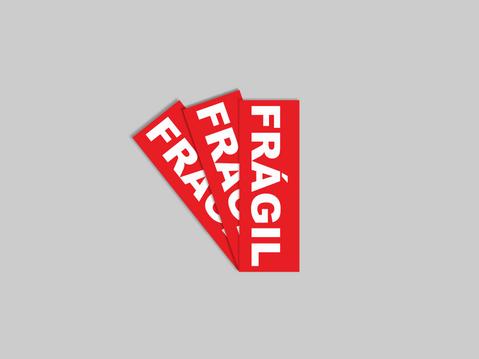 Clique e faça o seu pedido de Etiqueta Frágil - Sem picote