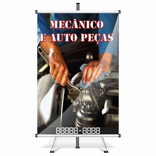 Banner Pronto Mecânico | 40x60 cm
