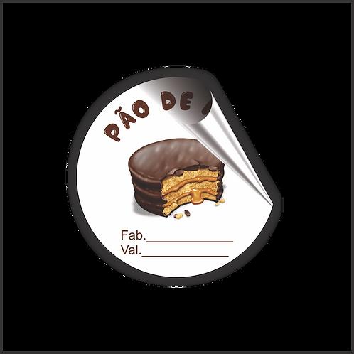 Pão de Mel 5x5 cm 1.000 peças