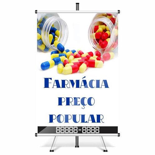 Banner Pronto Farmácia | 40x60 cm
