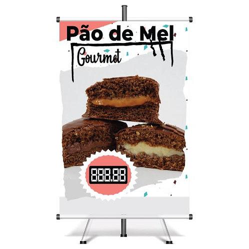 Banner Pronto Pão de Mel | 40x60 cm