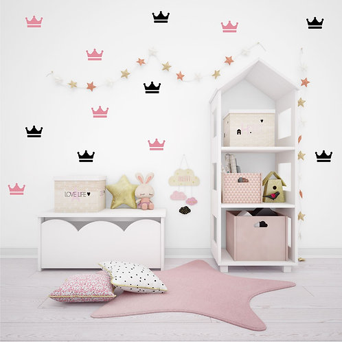 Coroa - Adesivo Decorativo