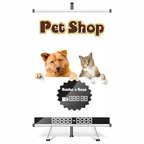 Banner Pronto - Banner Pet | 40x60 cm