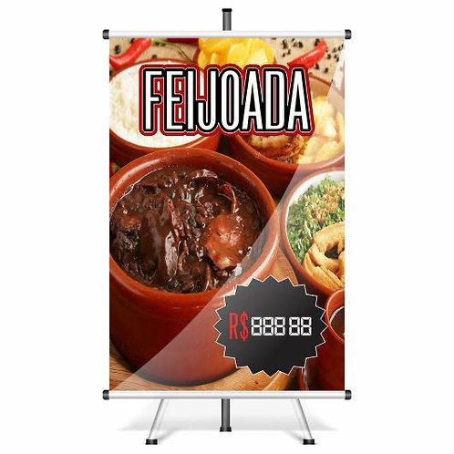 Banner Pronto Feijoada | 40x60 cm