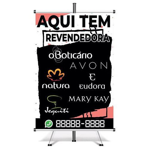 Banner Pronto Revendedora | 40x60 cm