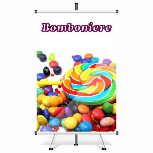 Banner Pronto - Bomboniere | 40x60 cm