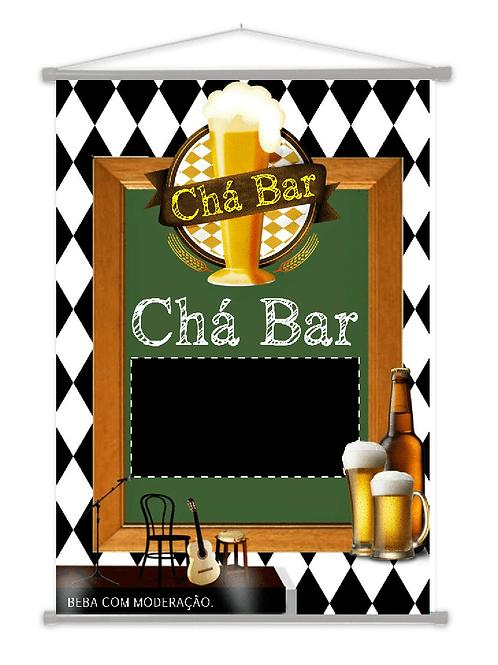 19 -Banner Temático ( Chá Bar )