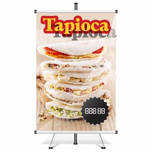 Banner Pronto Tapioca | 40x60 cm