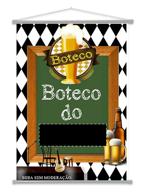 9 - Banner Temático ( Festa de Boteco )