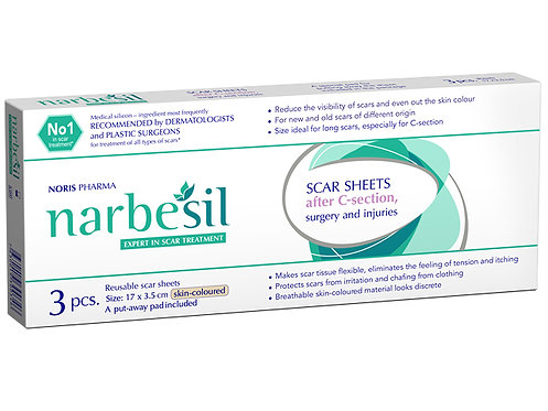 NARBESIL scar sheets