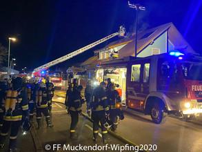 Brandeinsatz am 26.12.2020