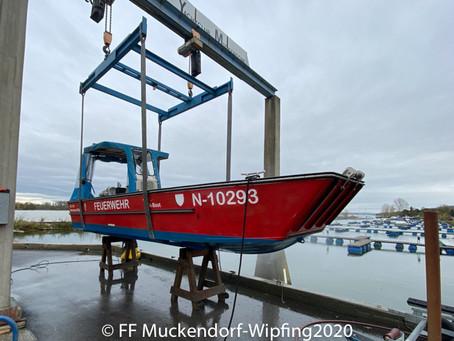 Boote einwintern am 31.10.2020