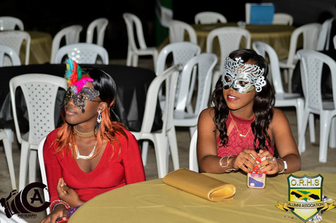 High School Mask Gala Pic