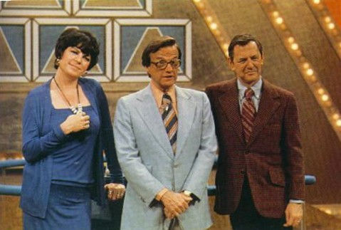Bill Cullen JoAnne Worley Tony Randall $25,000 Pyramid