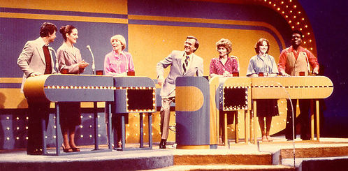 Chain Reaction game show Bill Cullen Fred Grandy Joyce Bulifant Patty Duke Nipsey Russell