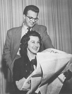 Bill Cullen Arlene Francis News to Amuse It Happens Every Day