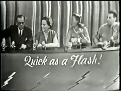 Quick as a Flash game show Bill Cullen Boris Karloff