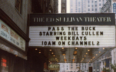 1978 Ed Sullivan Theater marquee