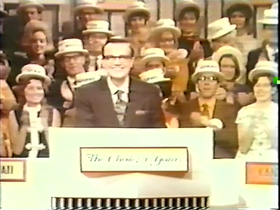 The Choice is Yours 1970 game show
